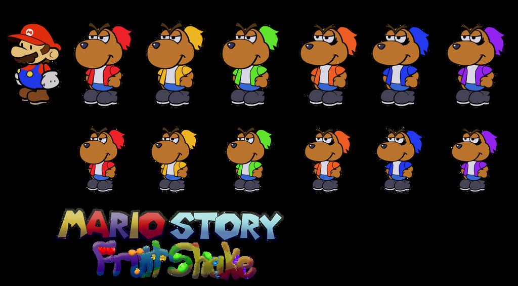 Doogans (Mario Story Fruit Shake) by DerekminyA