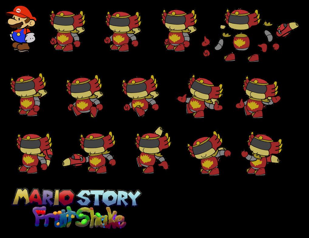 Nuvola Uno (Mario Story Fruit Shake) by DerekminyA