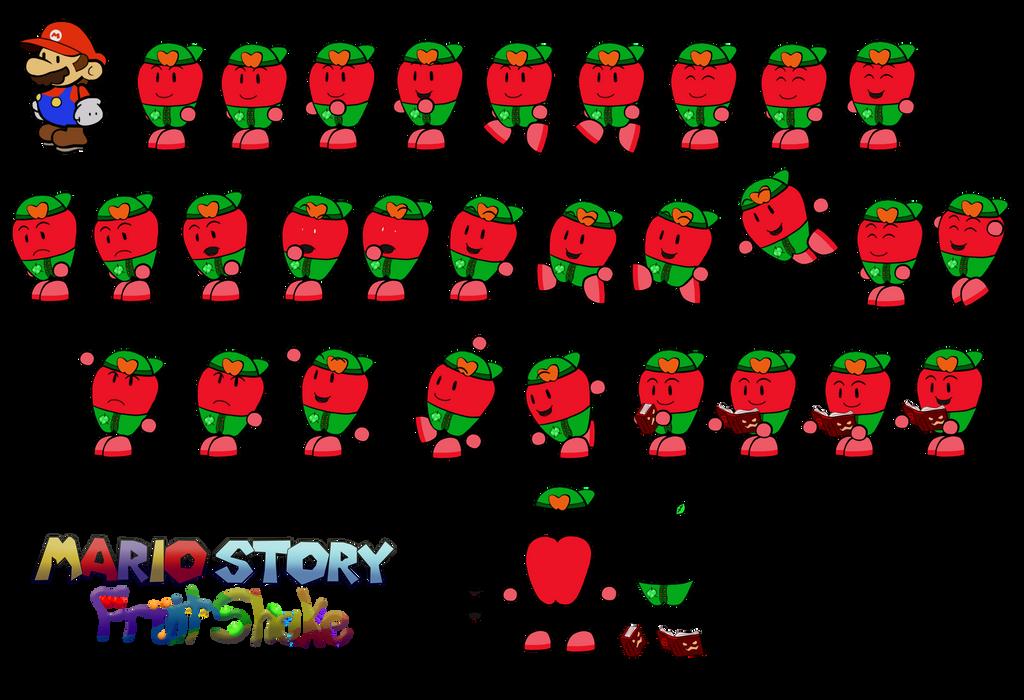 Adam (Mario Story Fruit Shake) by DerekminyA