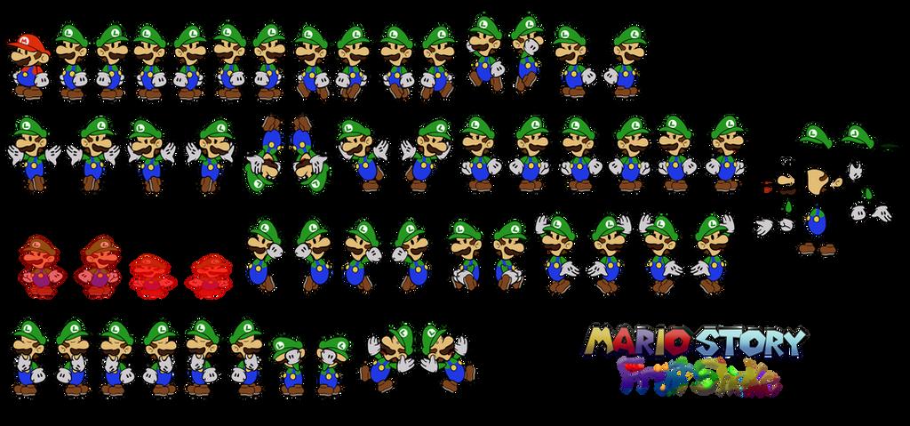 Luigi (Mario Story Fruit Shake) by DerekminyA