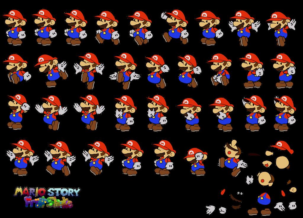 Mario v3 (Mario Story Fruit Shake) by DerekminyA