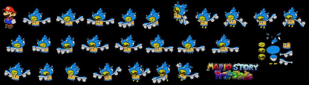 Blubawks (Mario Story Fruit Shake) by DerekminyA