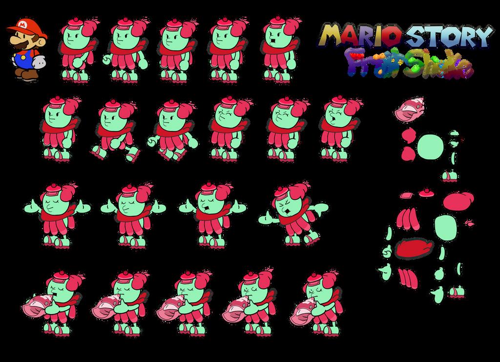 Conchlia (Mario Story Fruit Shake) by DerekminyA