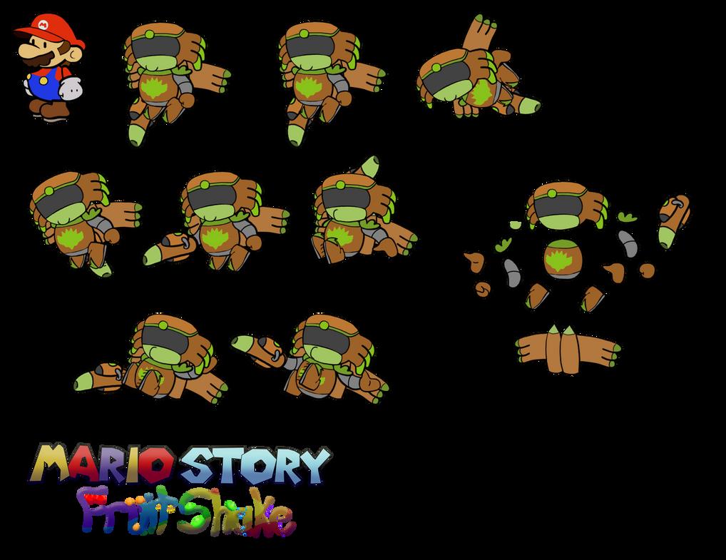 Planata (Mario Story Fruit Shake) by DerekminyA