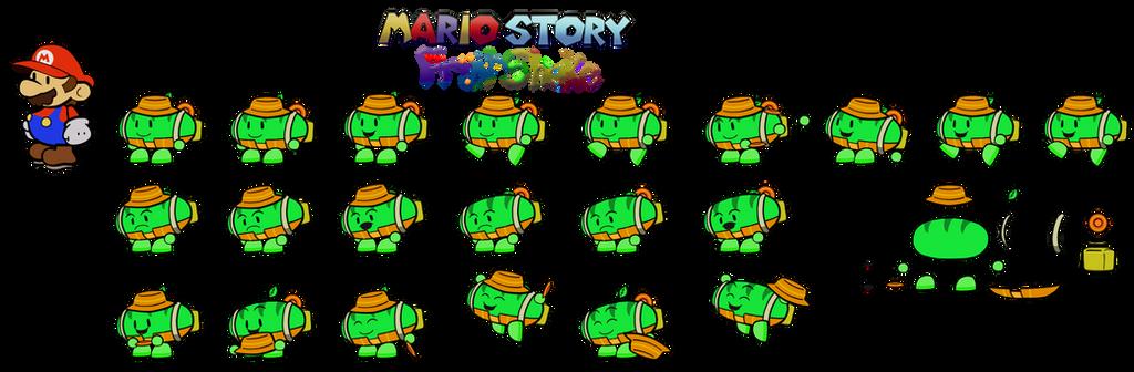 Talop (Mario Story Fruit Shake) by DerekminyA