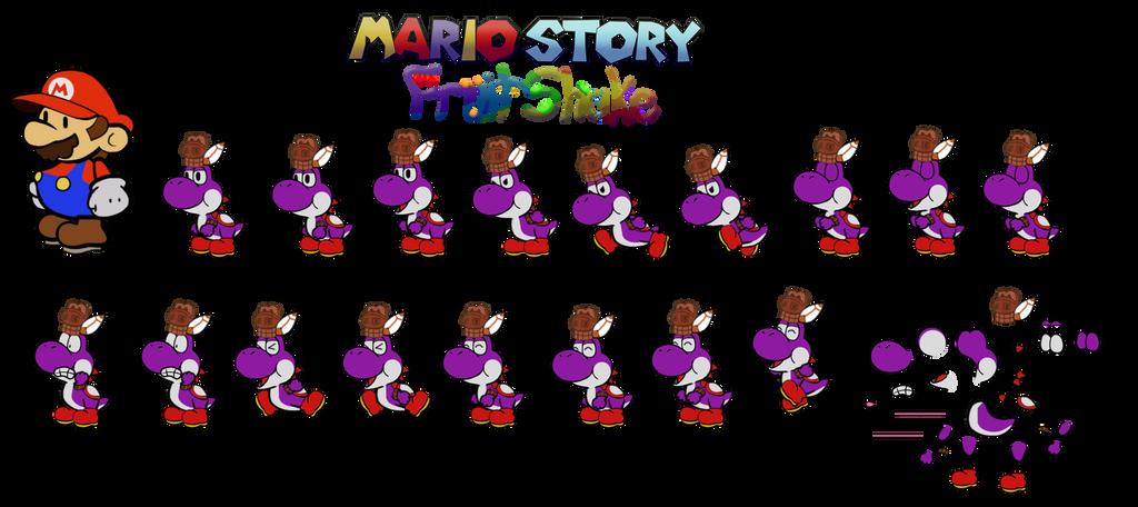 Kyoshid (Mario Story Fruit Shake) by DerekminyA