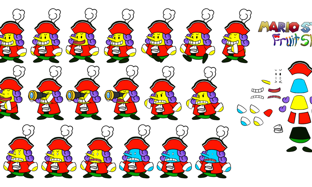 Flavio (Mario Story Fruit Shake) by DerekminyA