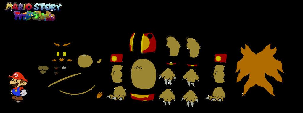 Argulus PARTS (Mario Story Fruit Shake) by DerekminyA