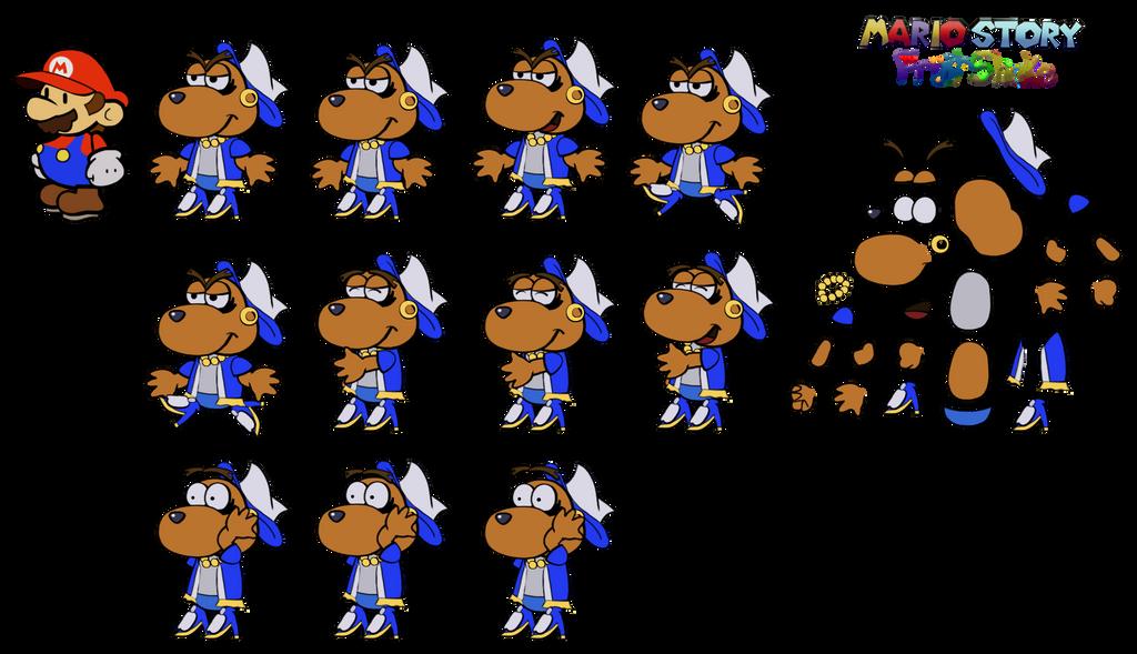 Delirhuff (Mario Story Fruit Shake) by DerekminyA