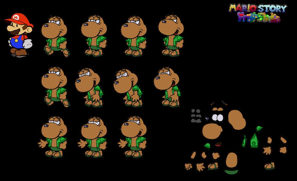 Joroo (Mario Story Fruit Shake) by DerekminyA