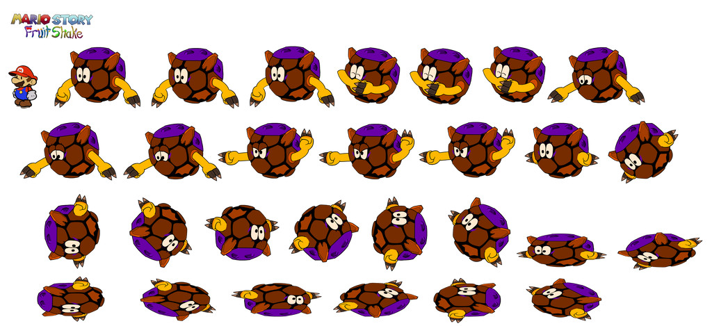 Lupule (Mario Story Fruit Shake) by DerekminyA