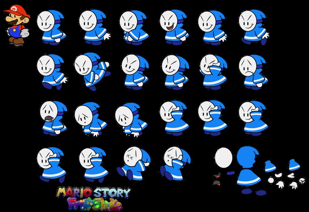 Blue Bandit (Mario Story Fruit Shake) by DerekminyA