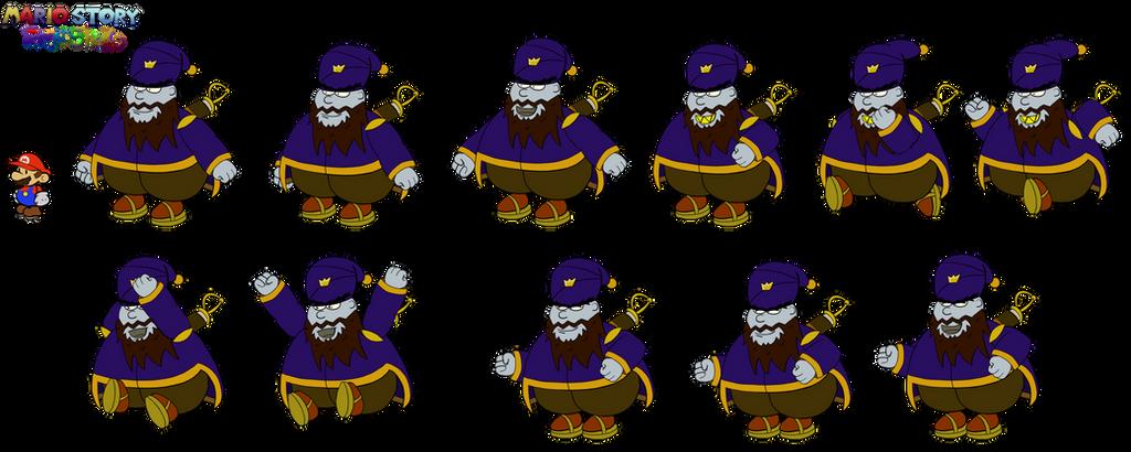 Ari Sworda (Mario Story Fruit Shake) by DerekminyA