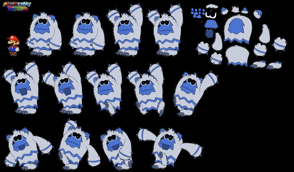 Wild Grizzetis (Mario Story Fruit Shake) by DerekminyA