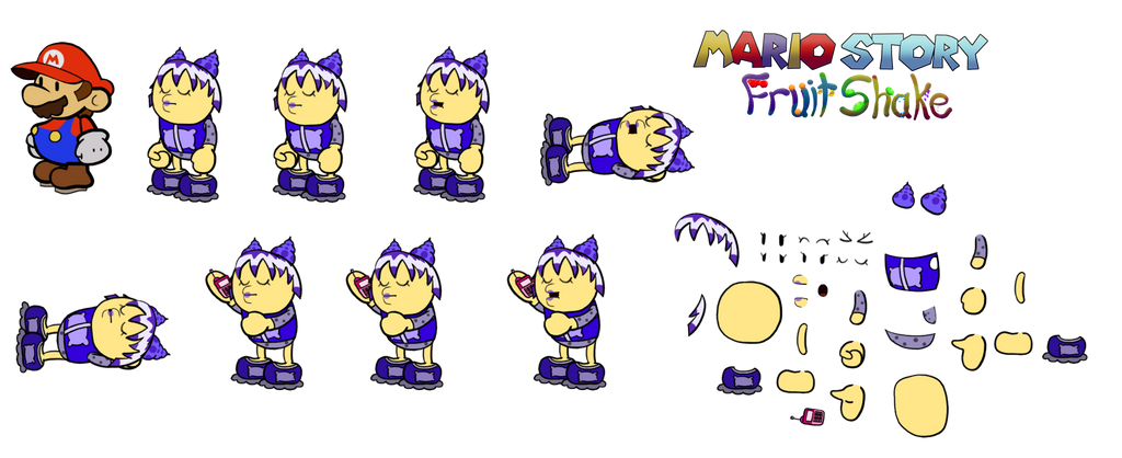 Fone (Mario Story Fruit Shake) by DerekminyA