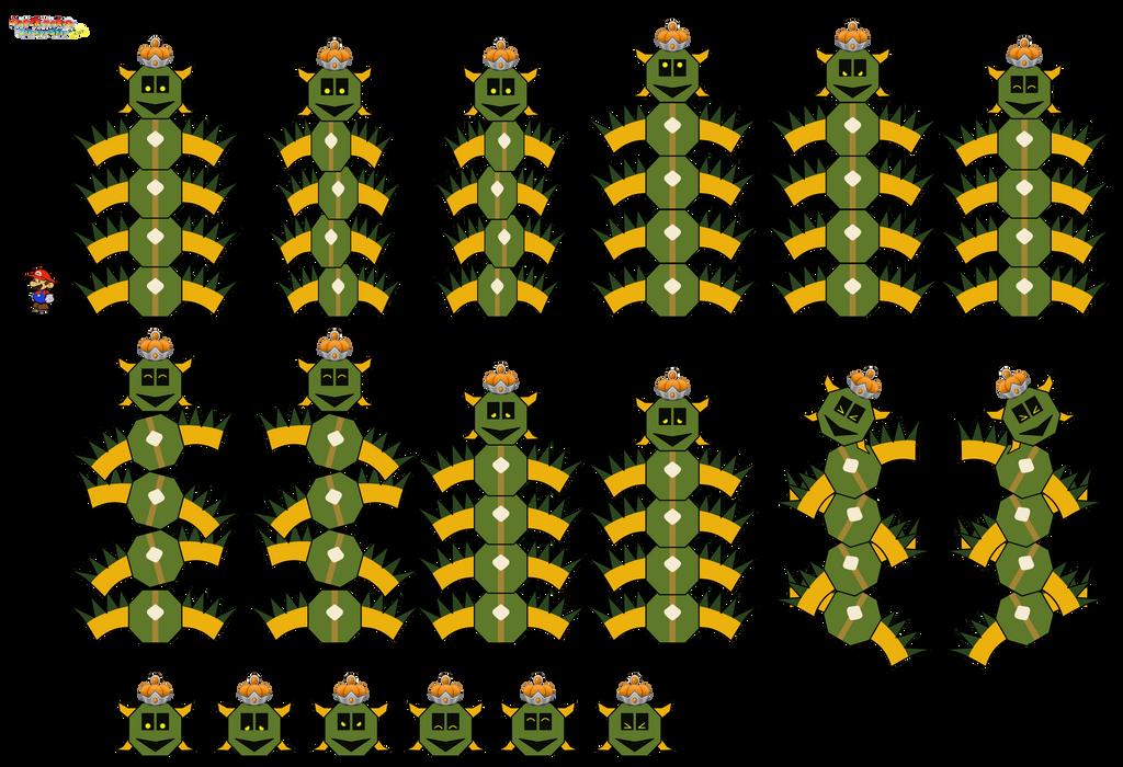 Pokeyhotep (Paper Mario Sticker Star Recut) by DerekminyA