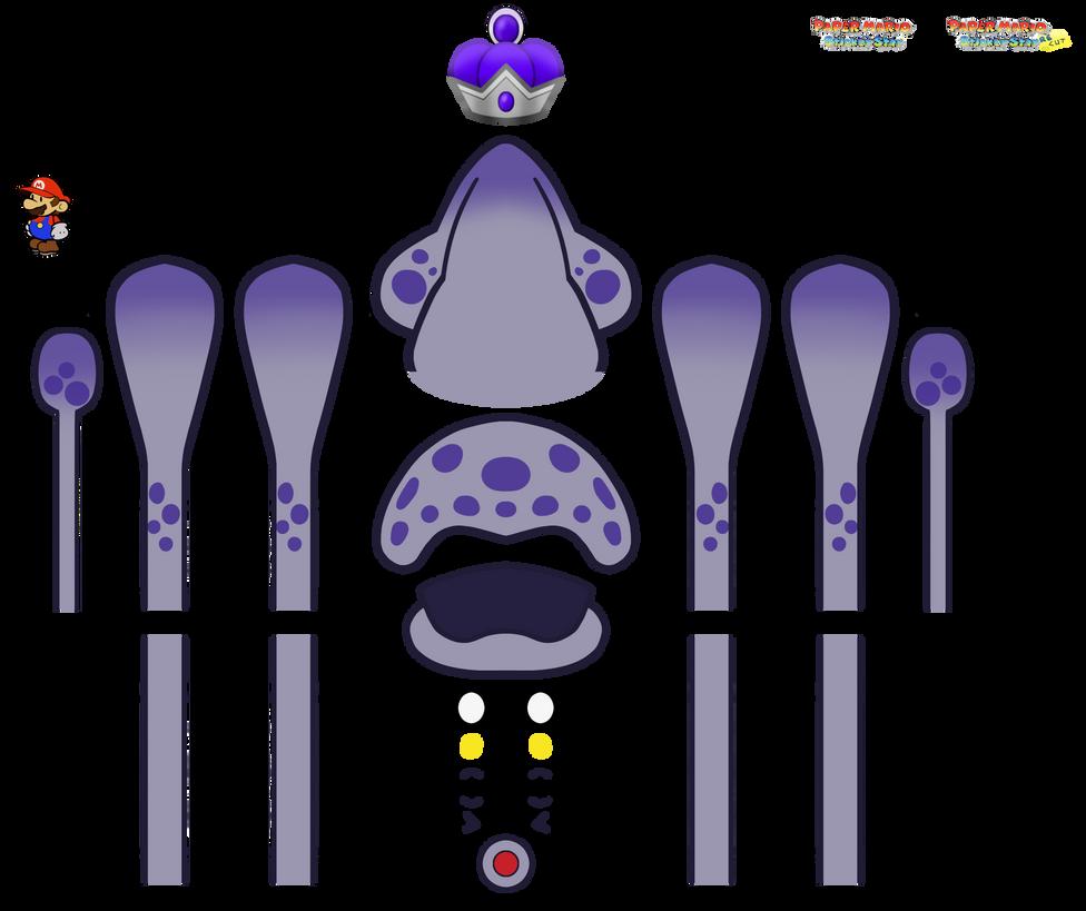 Royal Gooper Blooper disassembled by DerekminyA