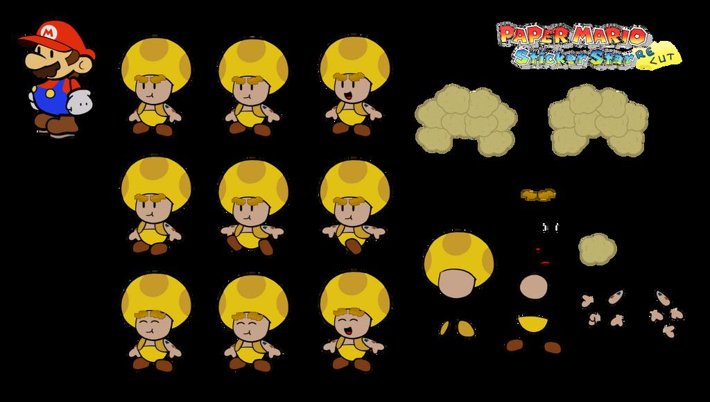 Ossi T (Paper Mario Sticker Star Recut) by DerekminyA