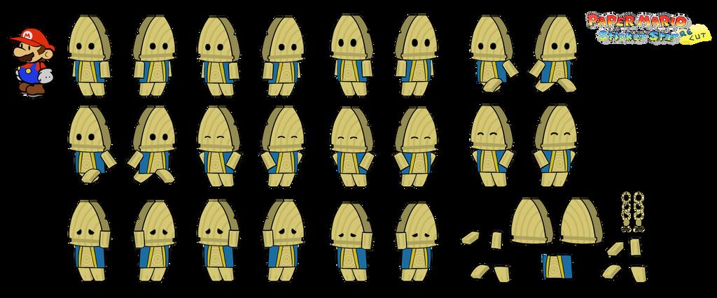 Trang (Paper Mario Sticker Star Recut) by DerekminyA