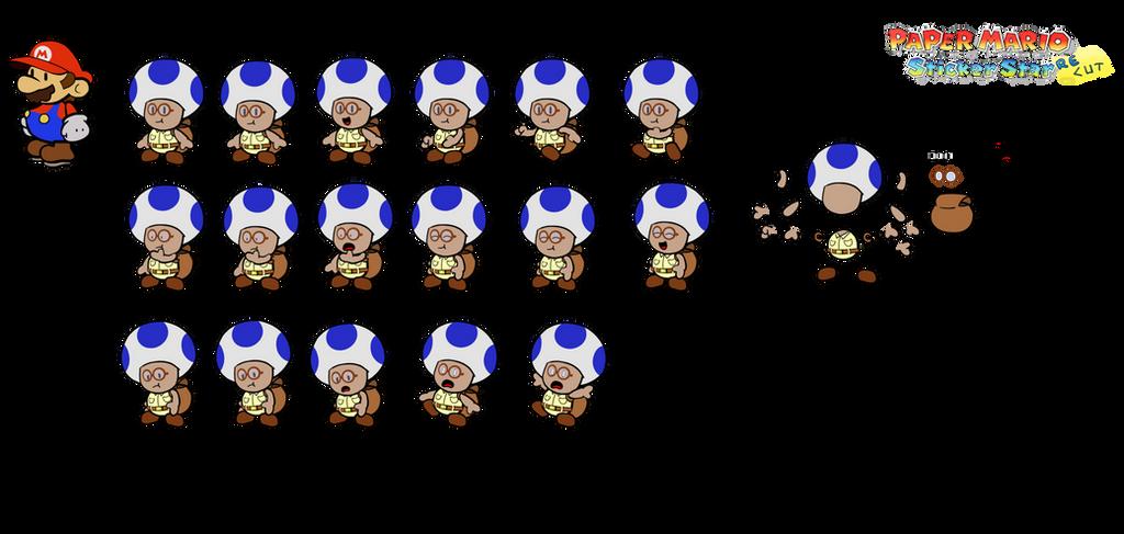 Smart Blue (Paper Mario Sticker Star Recut) by DerekminyA