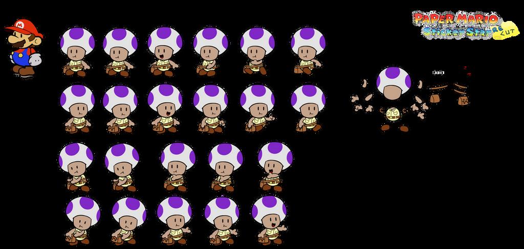 MailToad (Paper Mario Sticker Star Recut) by DerekminyA