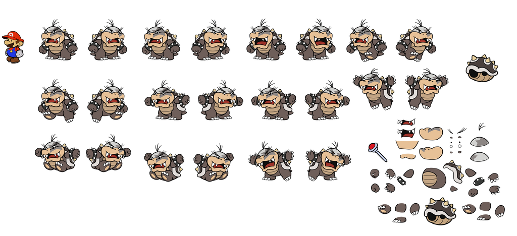 Morton CS version (Paper Mario) by DerekminyA