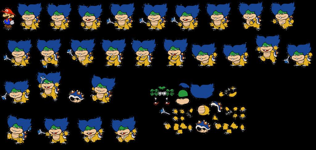 Ludwig CS version (Paper Mario) by DerekminyA