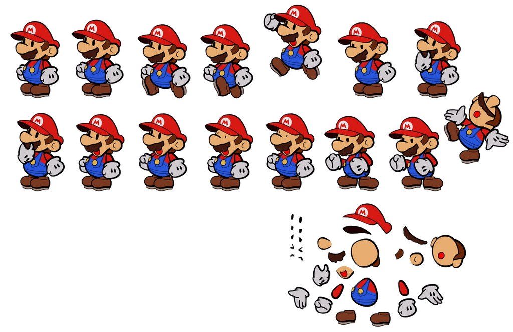 Paper Mario (3D World style) by DerekminyA