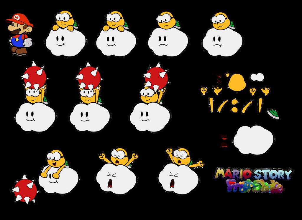 Lakitu (Mario Story Fruit Shake) by DerekminyA