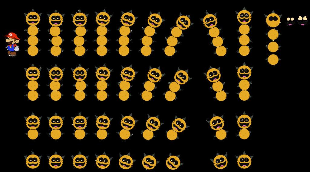 Pokey (Paper Mario) by DerekminyA