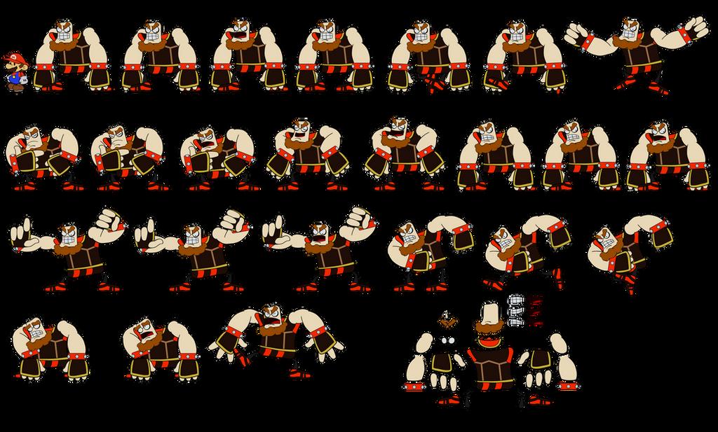 O'Chunks v2 (Super Paper Mario) by DerekminyA