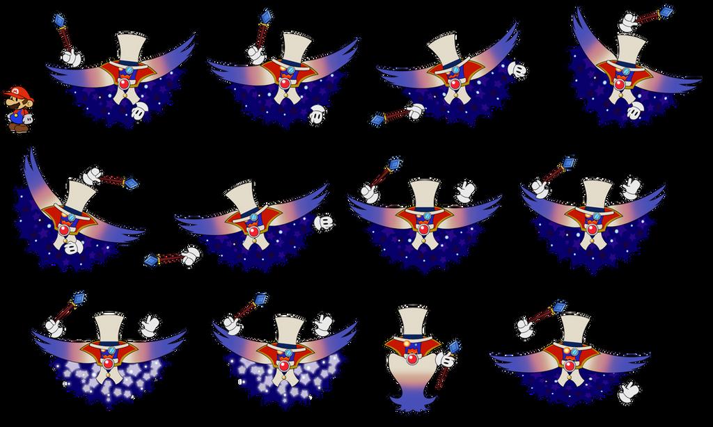 Count Bleck v2 pg2 (Super Paper Mario) by DerekminyA