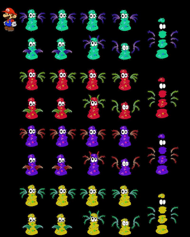 Cursyas v2 (Super Paper Mario) by DerekminyA