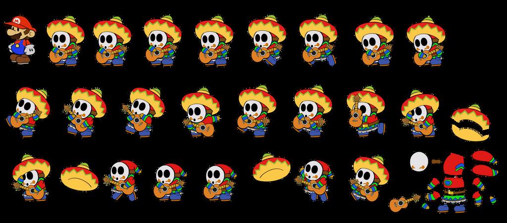 Sombrero Guy ODYSSEY (Paper Mario) by DerekminyA