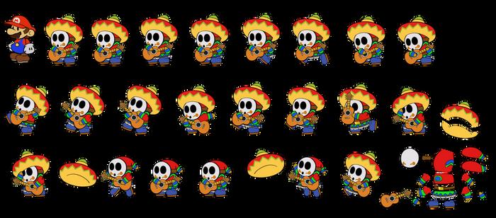 Sombrero Guy ODYSSEY (Paper Mario)