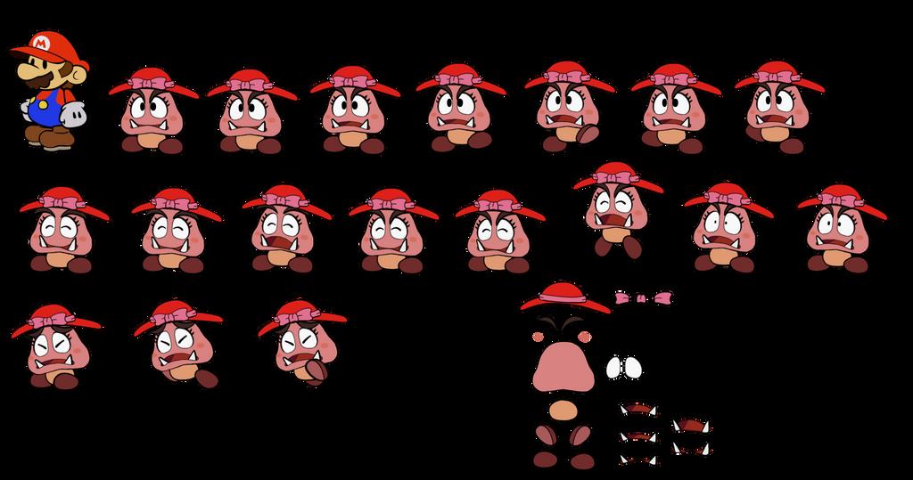 Goombette (Super Mario Odyssey) by DerekminyA
