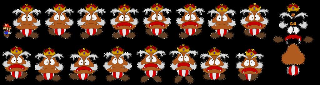 Goomboss (Paper Mario 64) by DerekminyA