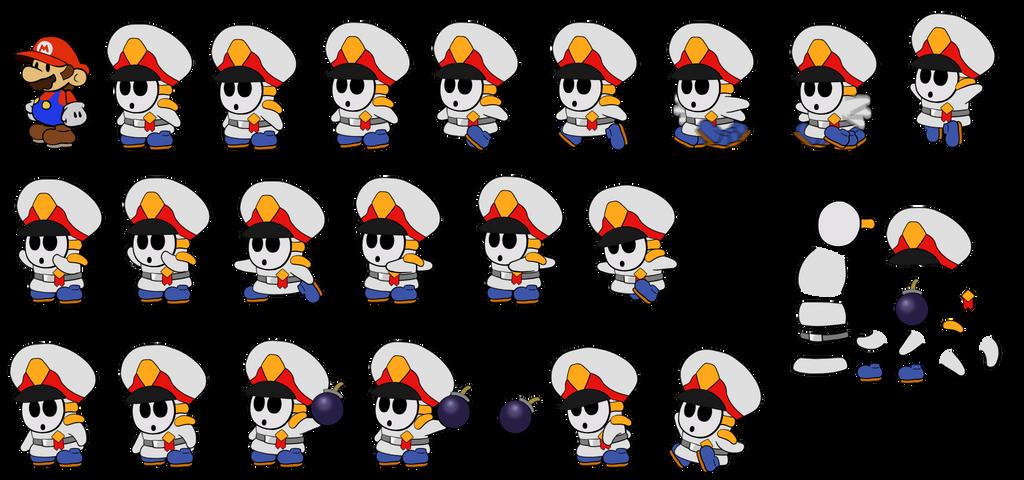 General Guy (Paper Mario 64) by DerekminyA