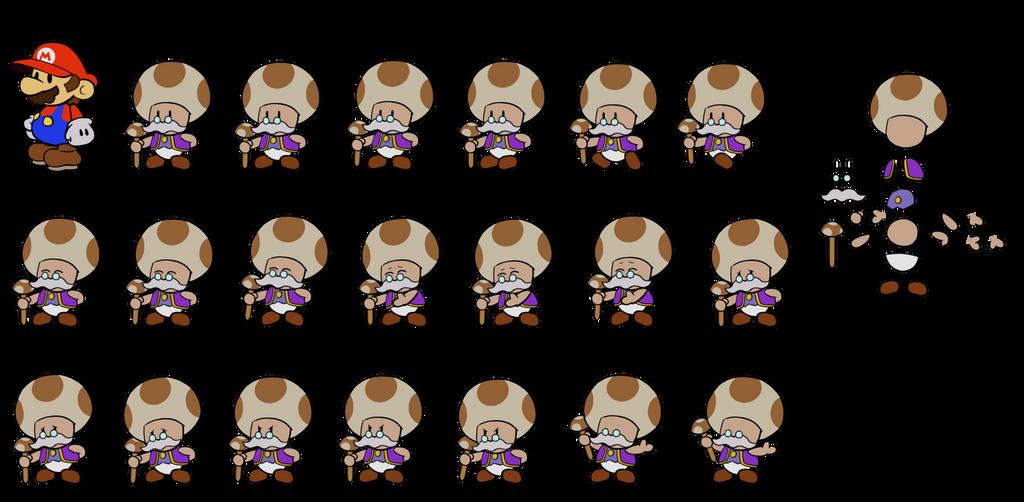 Toadsworth (Super Mario Sunshine) by DerekminyA