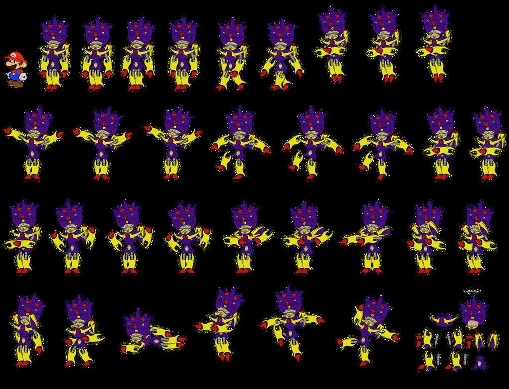 Starmageddon mechsuit (Paper Mario DMZ timeline) by DerekminyA