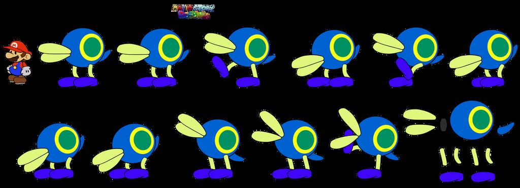 Cataquack (Mario Story Fruit Shake) by DerekminyA