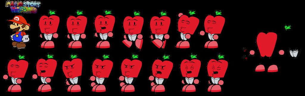 Robapero (Mario Story Fruit Shake) by DerekminyA
