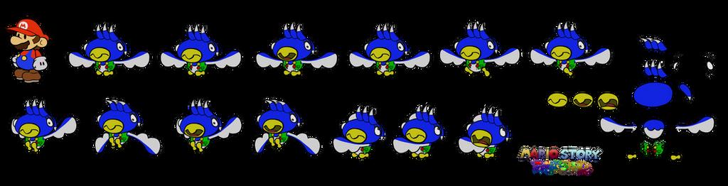 Sparakan (Mario Story Fruit Shake) by DerekminyA
