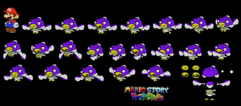 Talonmor (Mario Story Fruit Shake) by DerekminyA