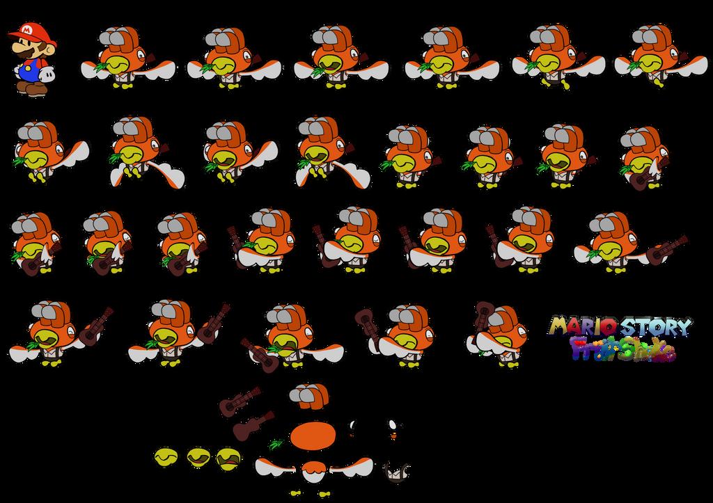 Wetty (Mario Story Fruit Shake) by DerekminyA