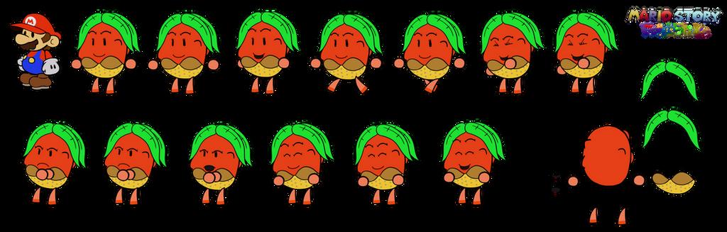 Ollaindor (Mario Story Fruit Shake) by DerekminyA