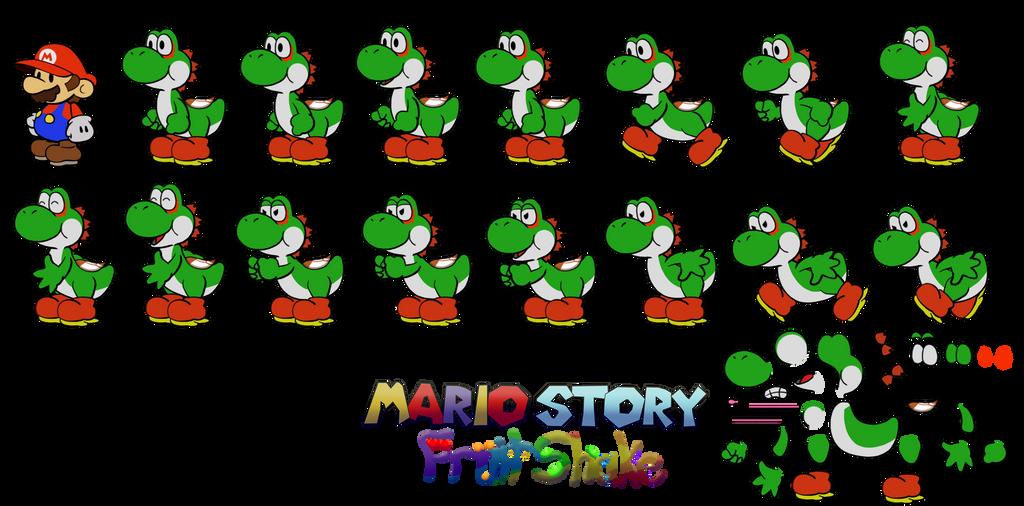Shila (Mario Story Fruit Shake) by DerekminyA