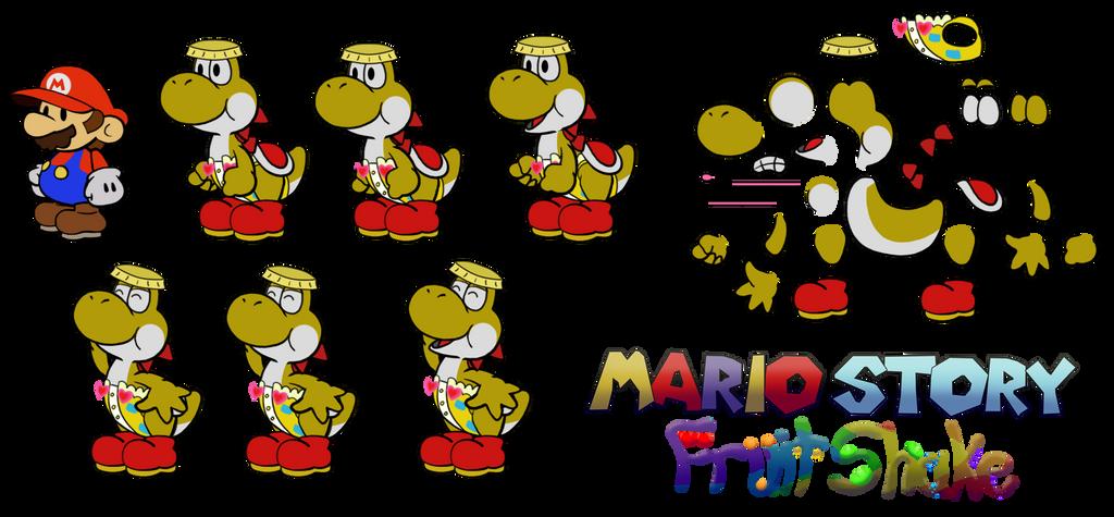 Groshi (Mario Story Fruit Shake) by DerekminyA