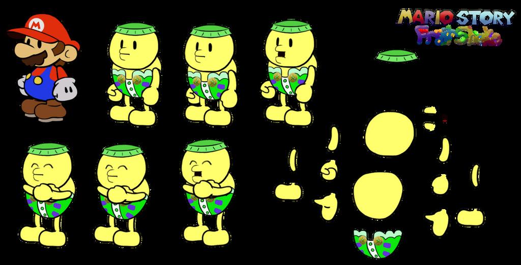 Trombo (Mario Story Fruit Shake) by DerekminyA