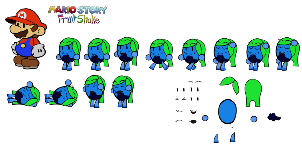 Swironica (Mario Story Fruit Shake) by DerekminyA